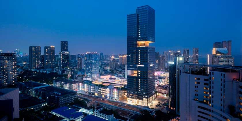 В Шэньчжэне открылся 200-метровый небоскреб Prince Plaza