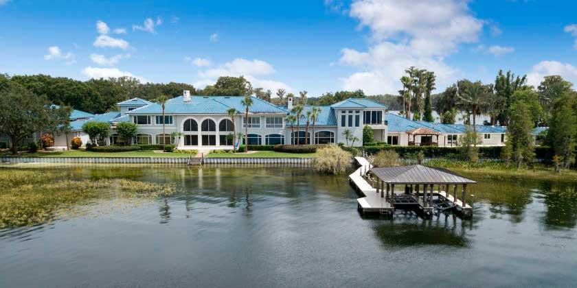 Шакил О'Нил продал мега-дом во Флориде со скидкой 30%