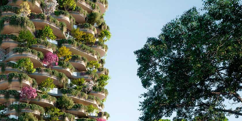 Koichi Takada Architects представила небоскрёб вертикальный лес