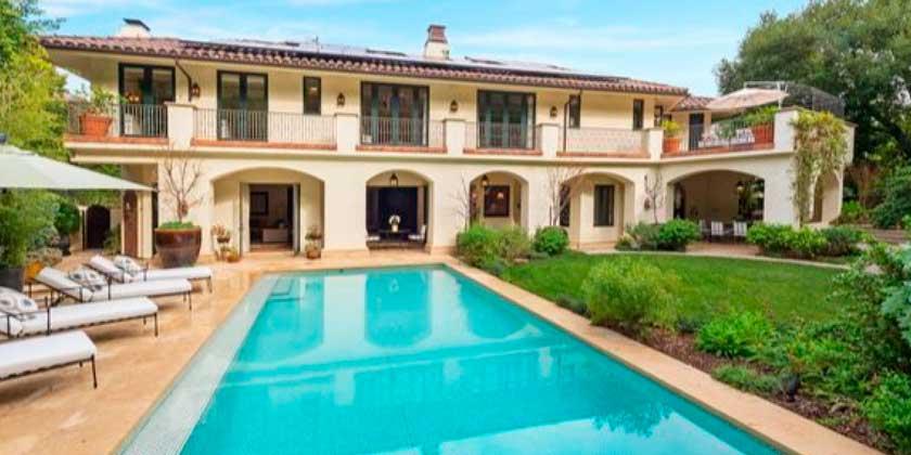 Майк Шинода из Linkin Park продал дом в Беверли-Хиллз