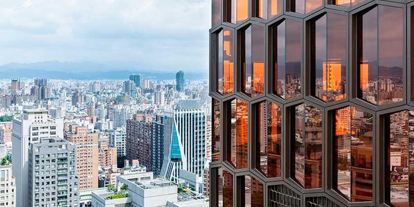 128-метровый небоскрёб La Bella Vita построен на Тайване