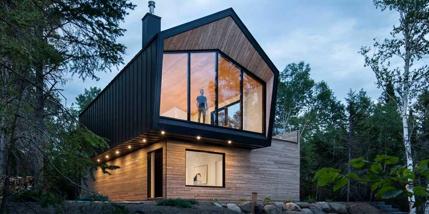 Дом выходного дня в Канаде по проекту Architecture49