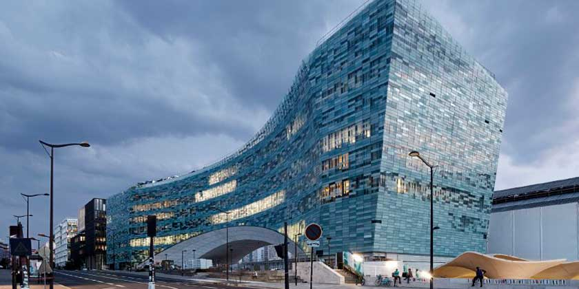 В Париже построен новый дом газеты Le Monde от Snøhetta