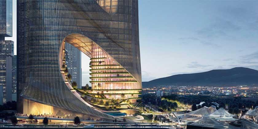 ZHA построит небоскрёб Tower C в заливе Шэньчжэня