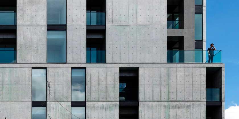 Бетонный ЖК на 34 квартиры построен по проекту Takuyahosokai