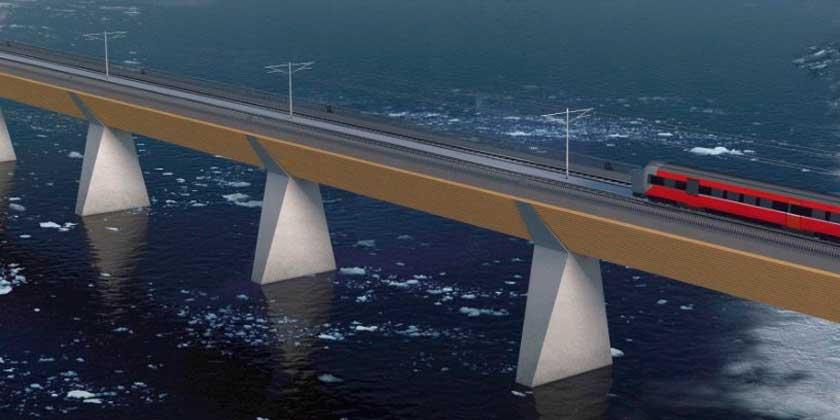 Деревянный железнодорожный мост могут построить в Норвегии