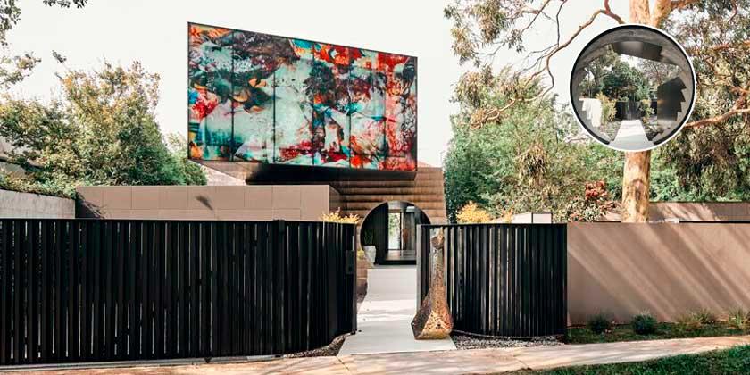 Дом как художественная галерея от Билли Кавеллариса