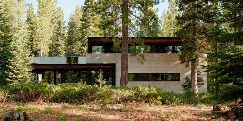 Загородный дом в горах Сьерра Невада от Faulker Architects