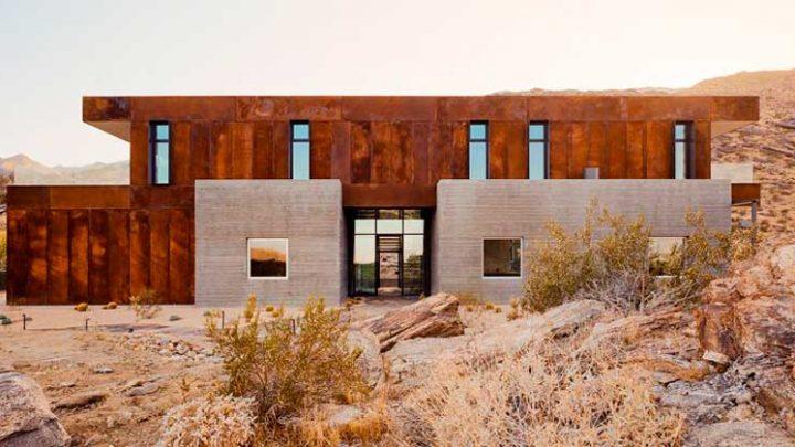 Дом на скалах в Палм-Спрингс по проекту EYRC