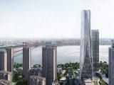 Новый небоскрёб Shimao высотой 300 м. начали строить в Ухане