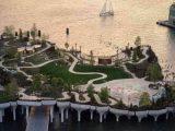 В Нью-Йорке открыли парк на воде Little Island от Heatherwick