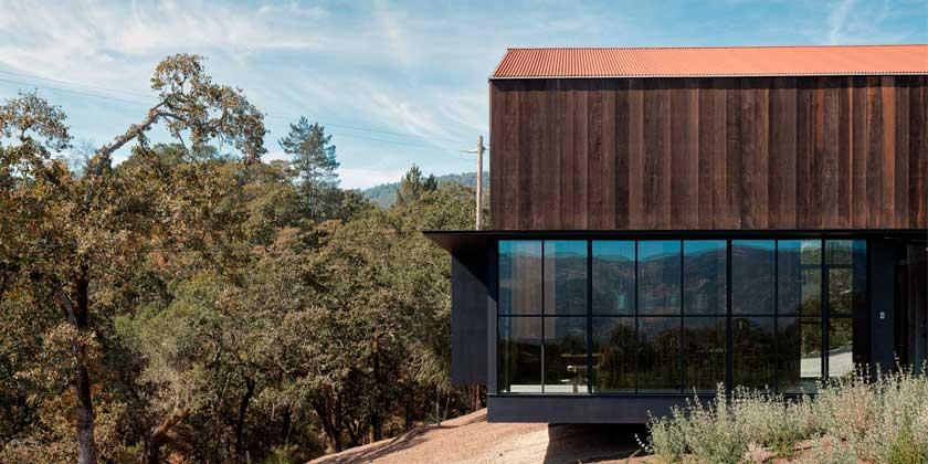 Дом в стиле старого амбара от Faulkner Architects