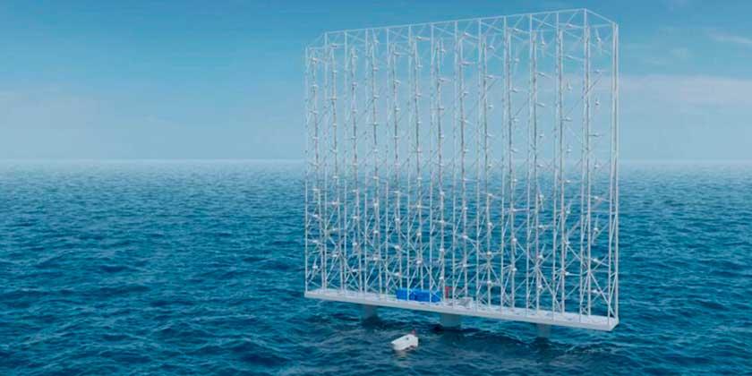 В Норвегии хотят строить ветряные фермы высотой ~300 метров