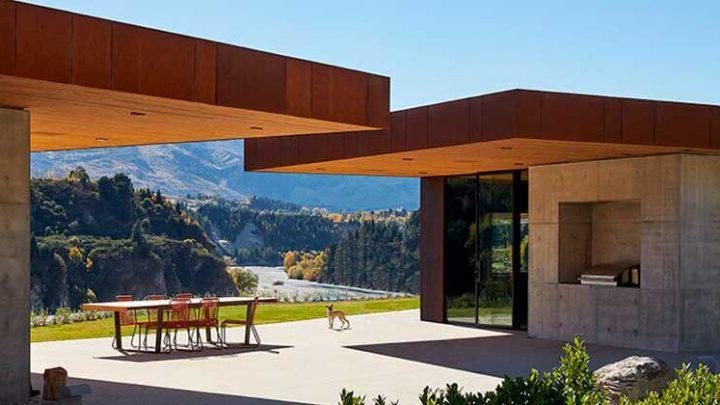 Сельский дом из легированной стали от Patterson Associates