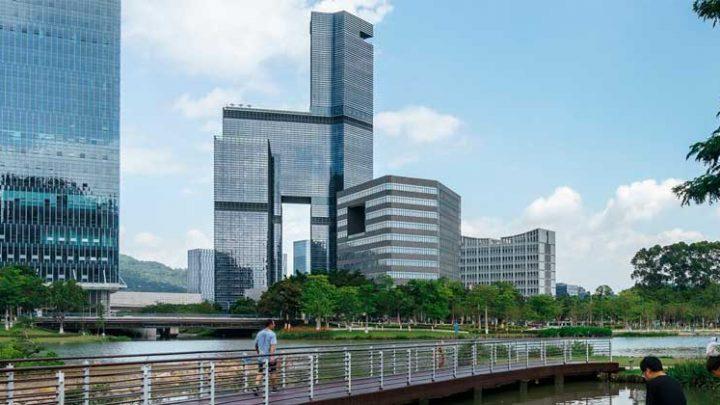 В Китае построен небоскрёб Kingboard Plaza Tower от Aedas