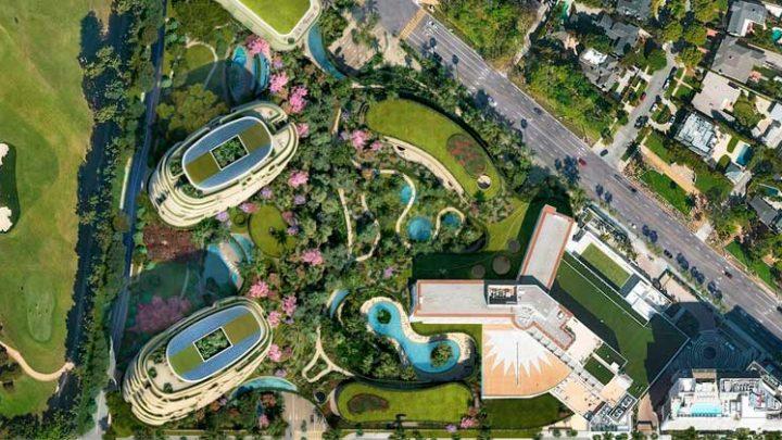 Foster + Partners построит зелёный оазис в Беверли-Хиллз