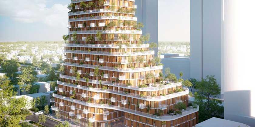 Urban Agency построит ЖК Vancouver Forest из CLT-панелей