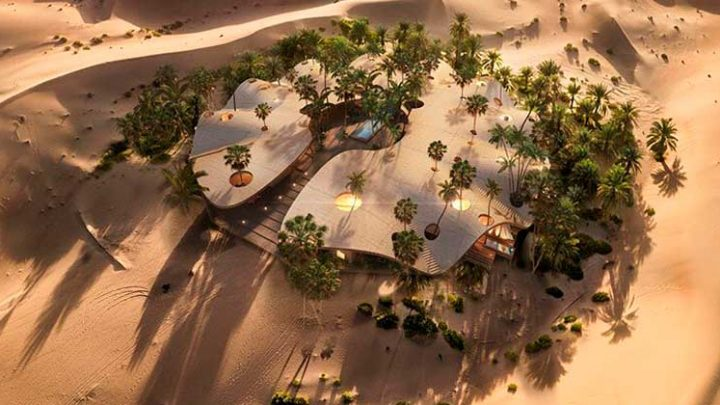 В золотых дюнах пустыни Кувейта построят элитный отель