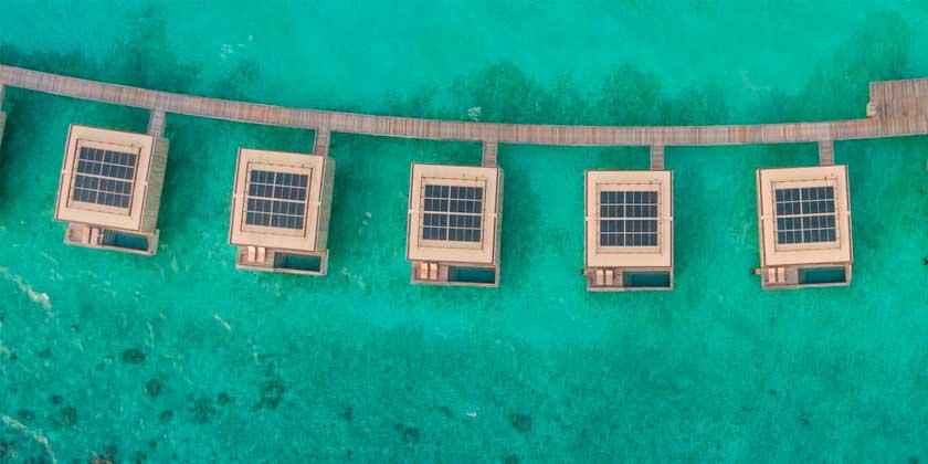 Studio MK27 представила островной курорт на Мальдивах