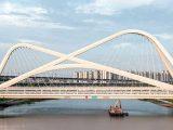 Мост в форме горных вершин от NAN Architects открылся в Китае