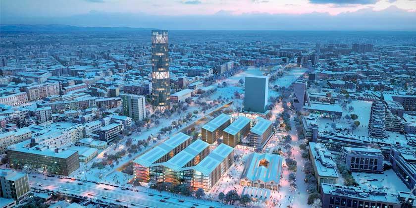 SOM построит Олимпийскую деревню для зимних Игр в Милане 2026