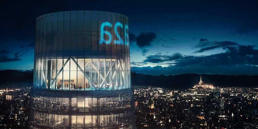 ACPV построит в Милане стеклянный небоскрёб-маяк высотой 144 м