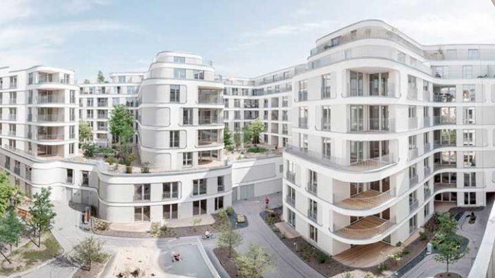 В Берлине построен жилой квартал от студии Юргена Майера