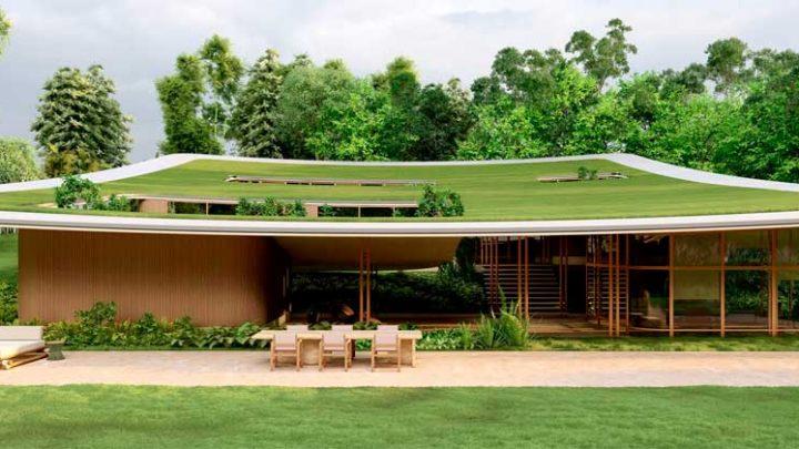 Монументальный дом Taperá House. Проект Виктора Ортиса