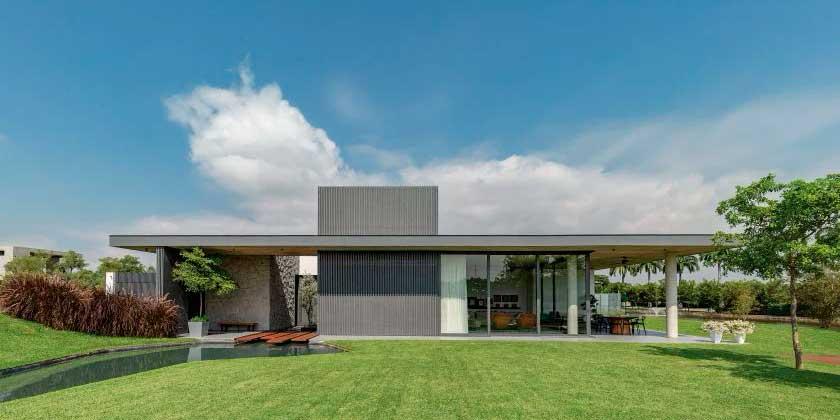 Современны дом в Эквадоре по проекту Jannina Cabal Arquitectos